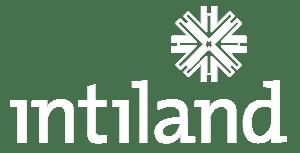 South Quarter INTILAND Logo Negative White